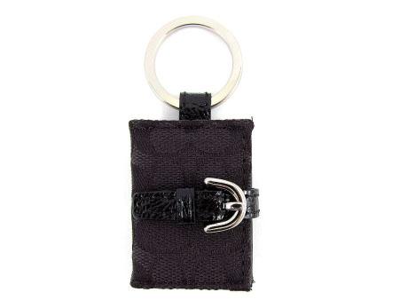 【COACH】COACH緹花布書造型照本片鑰匙圈